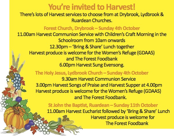 Church Harvest Notice 2015