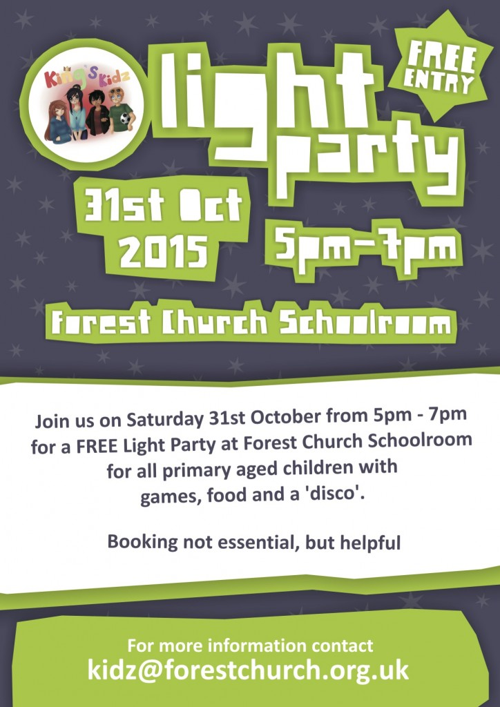 King's Kidz-Light Party-Poster