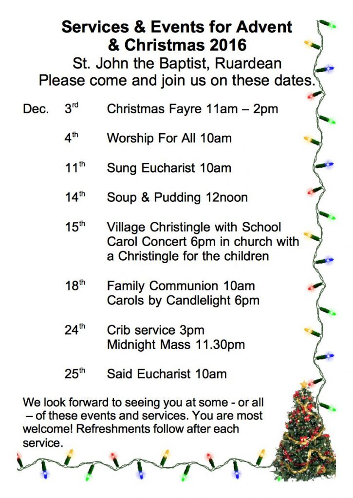 ruardean-christmas-events-and-services