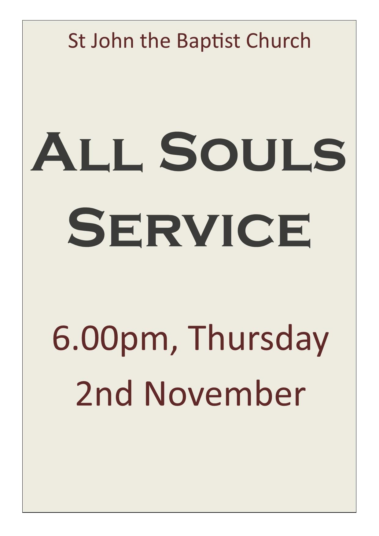 All Souls[1105]