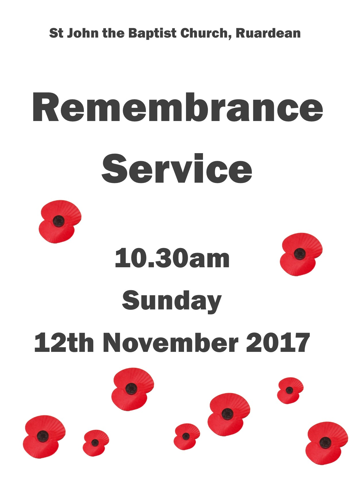 Remembrance 2017 main poster