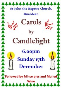 Carol by Candleslight Service 2017