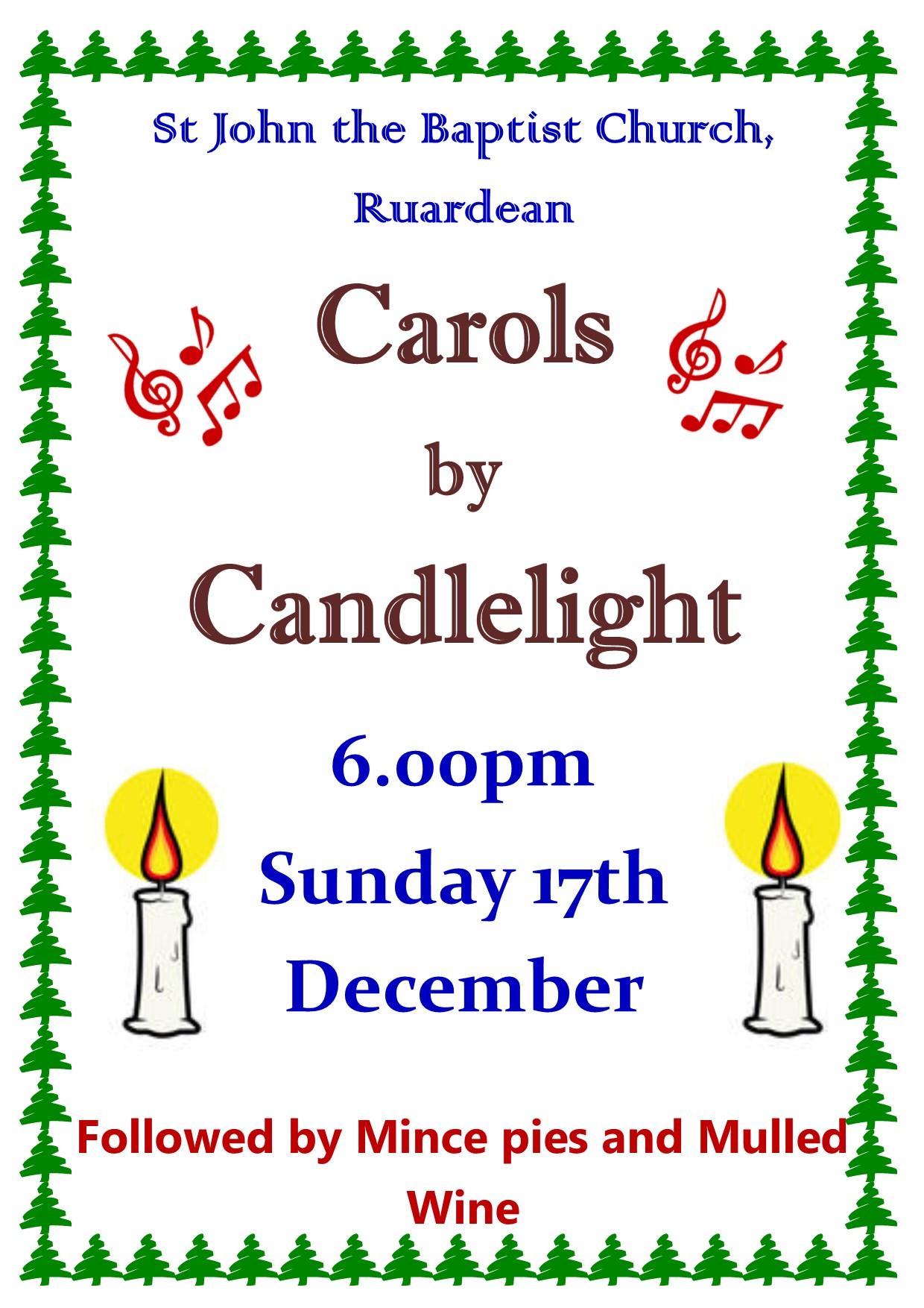 Carol by Candleslight Service 2017