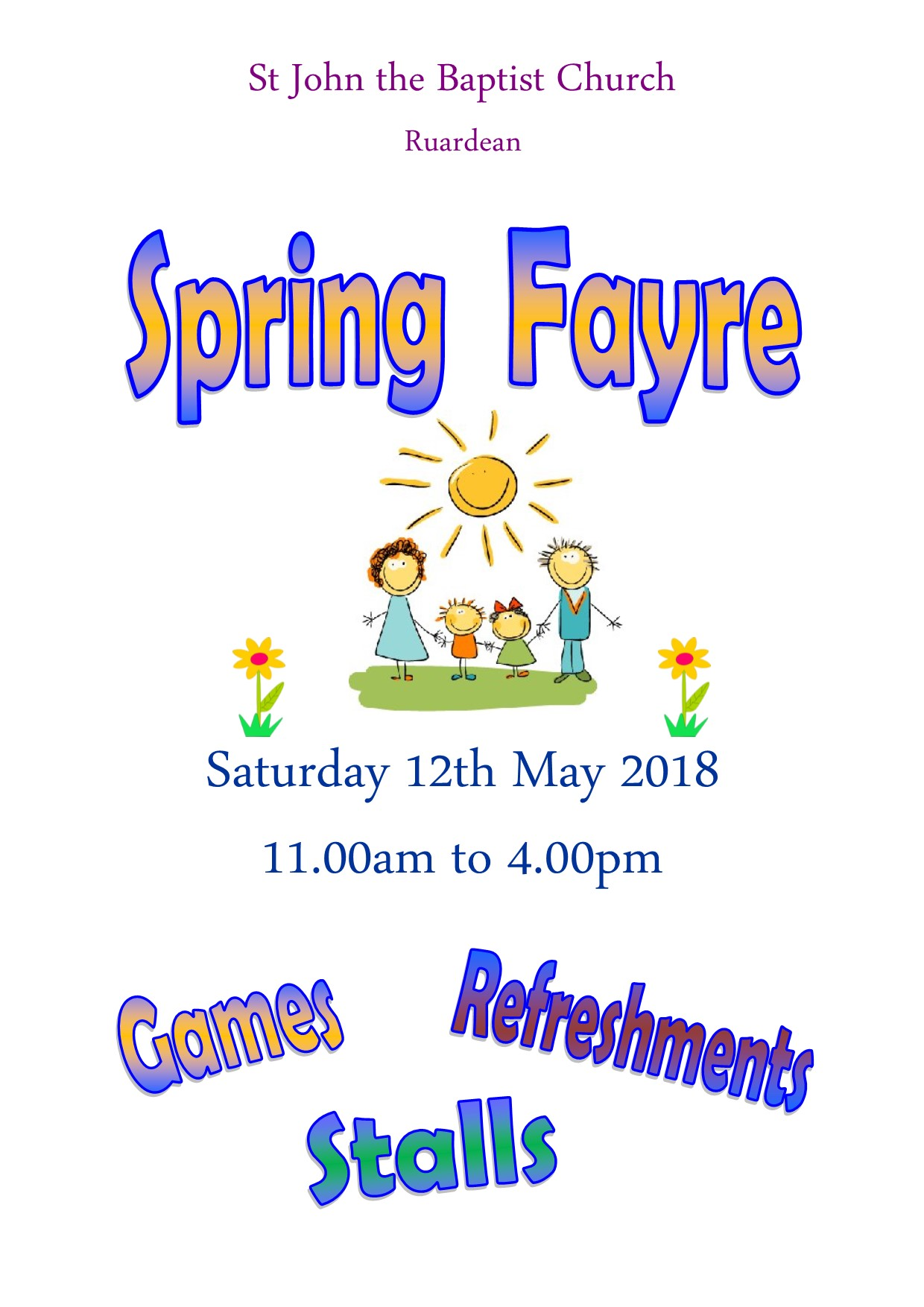 Spring Fayre 2018