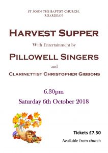 Harvest Supper Poster