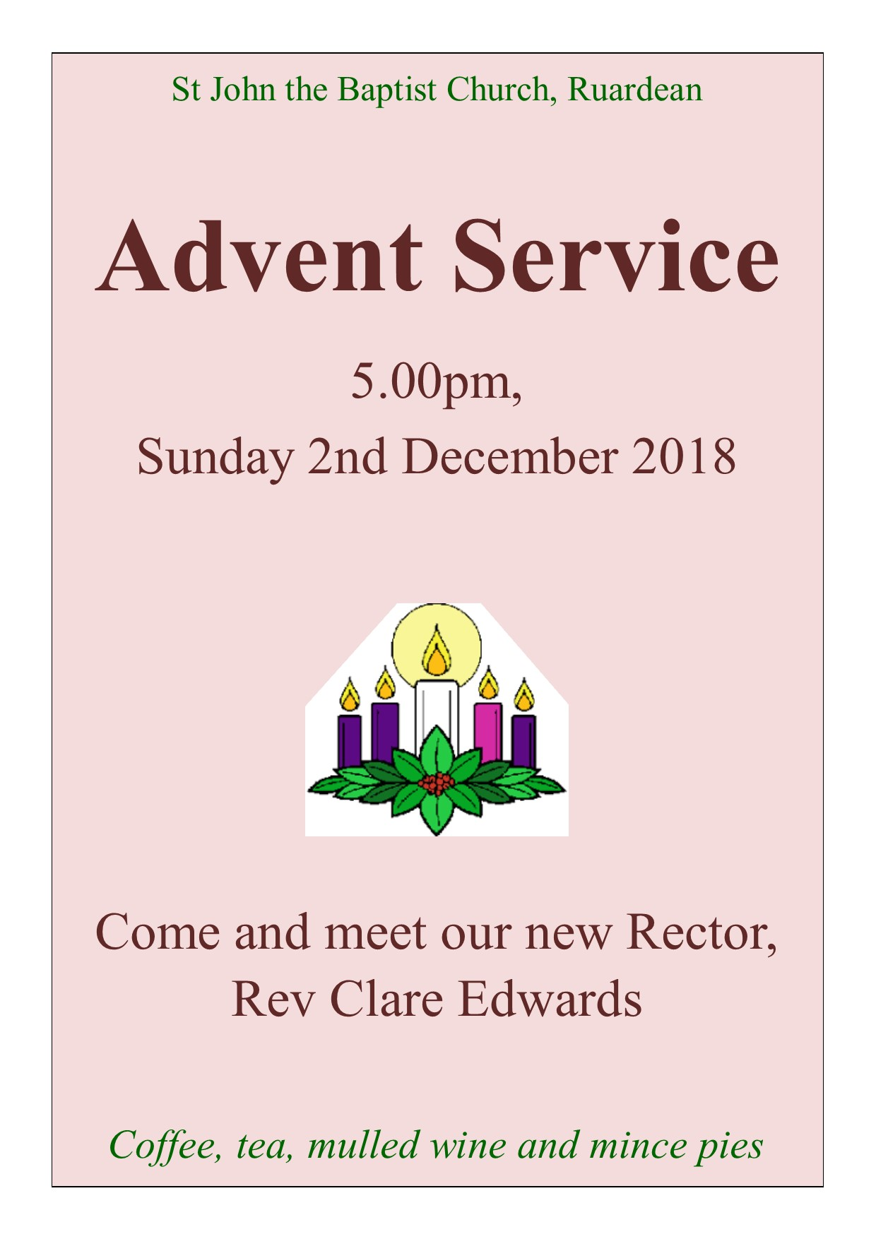 Advent poster 2018
