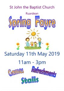 Spring Fayre Poster 2019