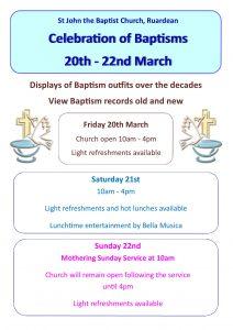 Baptism Weekend 2020