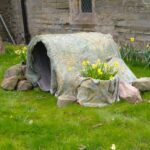 The Easter Tomb.  Our thanks to Sally for being so creative!